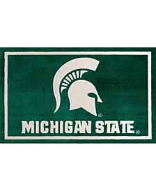 Michigan State Colmc Green Area Rug