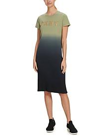 Sport Dip-Dyed T-Shirt Dress