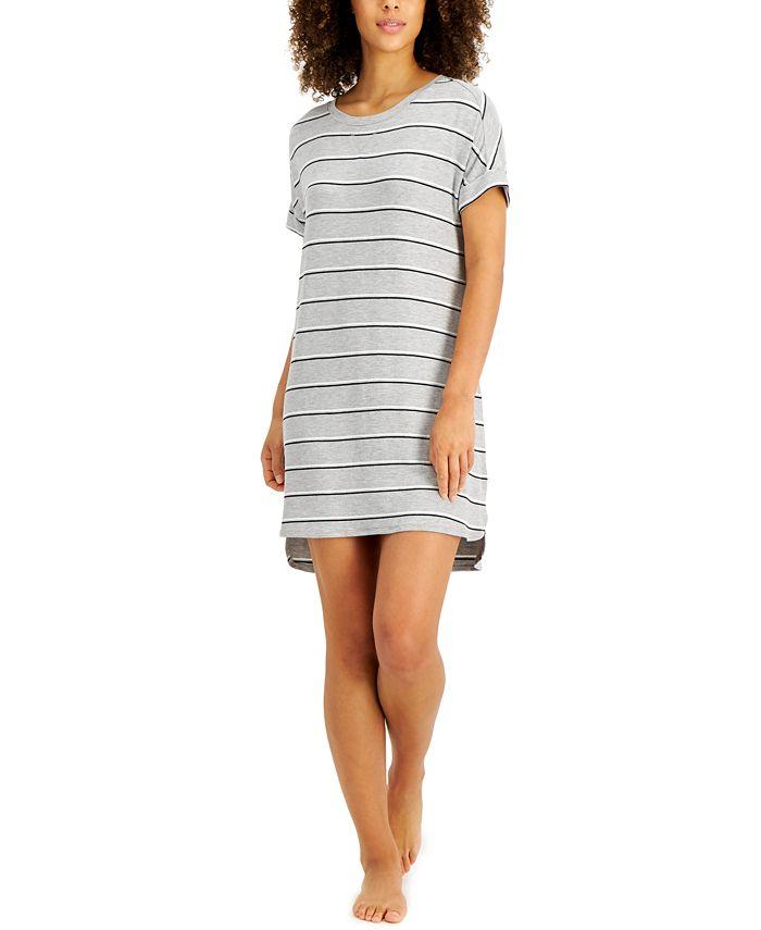 Alfani - Striped Sleep Shirt