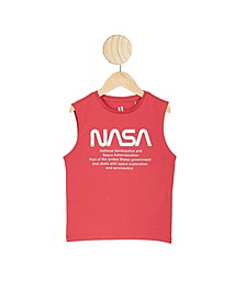 Little Boys License Muscle Tank Top