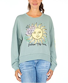 Juniors' Follow The Sun Sweatshirt