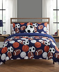 Play All Day Twin 5 Piece Comforter Set