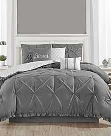 Ruffled 7 Piece Comforter Set Collection