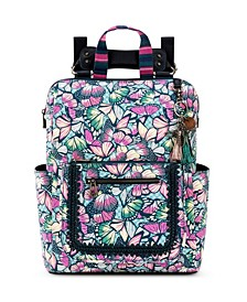 Loyola Convertible Printed Backpack
