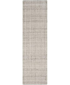 """Abstract 141 Silver 2'3"""" x 8' Runner Area Rug"""