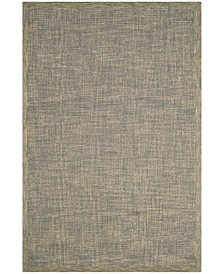 Abstract 220 Gold and Gray 6' x 9' Area Rug