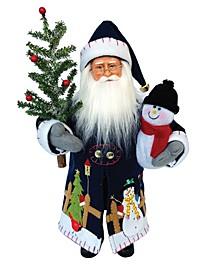 """15"""" Snowman Claus"""