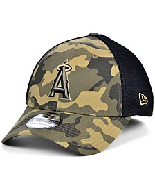 Men's Los Angeles Angels Camo Neo 39THIRTY Cap