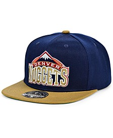 Denver Nuggets Wool 2 Tone Fitted Cap