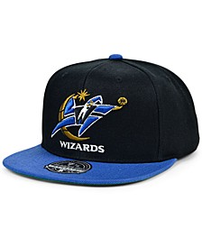 Washington Wizards Wool 2 Tone Fitted Cap