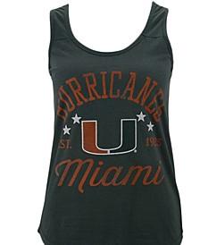 Women's Miami Hurricanes Jersey Tank