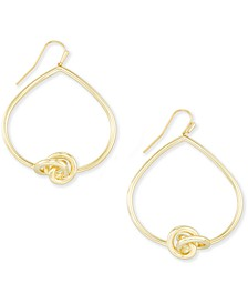 Love Knot Open Drop Earrings