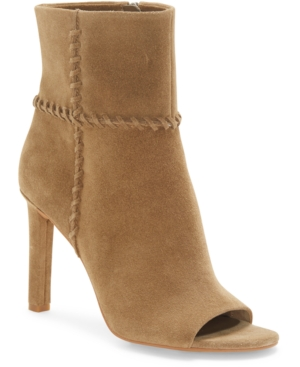 Vince Camuto SASHANE PEEP-TOE BOOTIES WOMEN'S SHOES