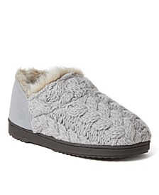 Women's Hayden Chunky Cable Knit Bootie Slippers