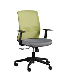 Spiro Office Chair with Adjustable Arms