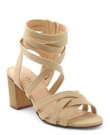 Eden Block-Heel Dress Sandals