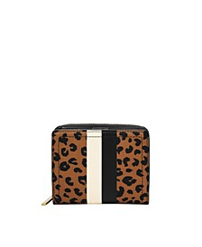 Women's Logan Small Bifold with Stripe