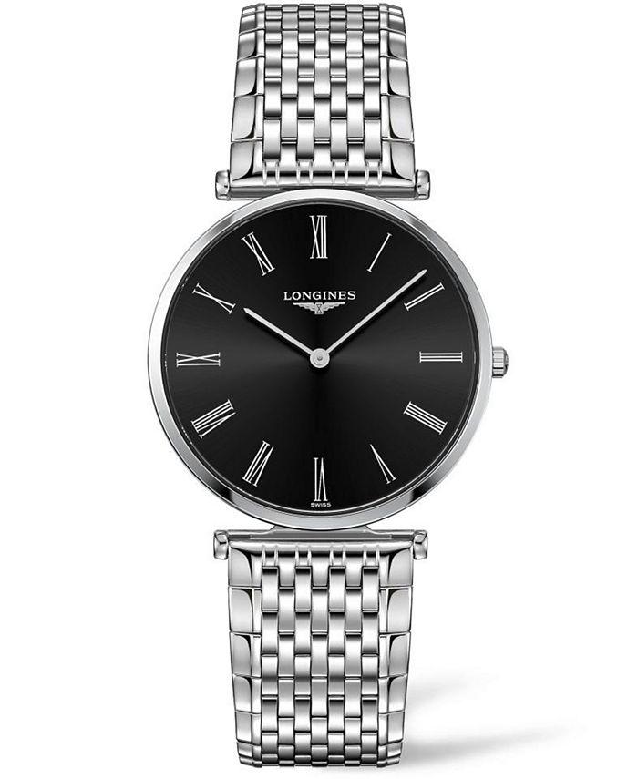 Longines - Women's Swiss La Grande Classique De  Stainless Steel Bracelet Watch 36mm