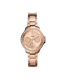 Women's Izzy Rose Gold-Tone Bracelet Watch 35mm