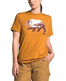 Women's Bearinda Graphic-Print T-Shirt