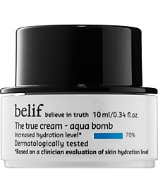 Receive a Free Belif Aqua Bomb, 10 ml with select $35 skincare purchases!