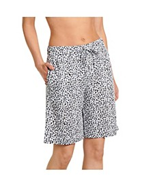 Cotton Bermuda Pajama Shorts