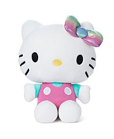 GUND Sanrio Pink Outfit Plush Stuffed Animal Cat, 9.5""