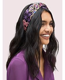 Pacific Petals Silk Headband