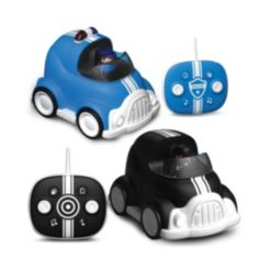 Fao Schwarz Toy Rc Cars Lights and Sounds, 2 Pack