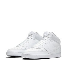Men's NikeCourt Vision Mid Casual Sneakers from Finish Line