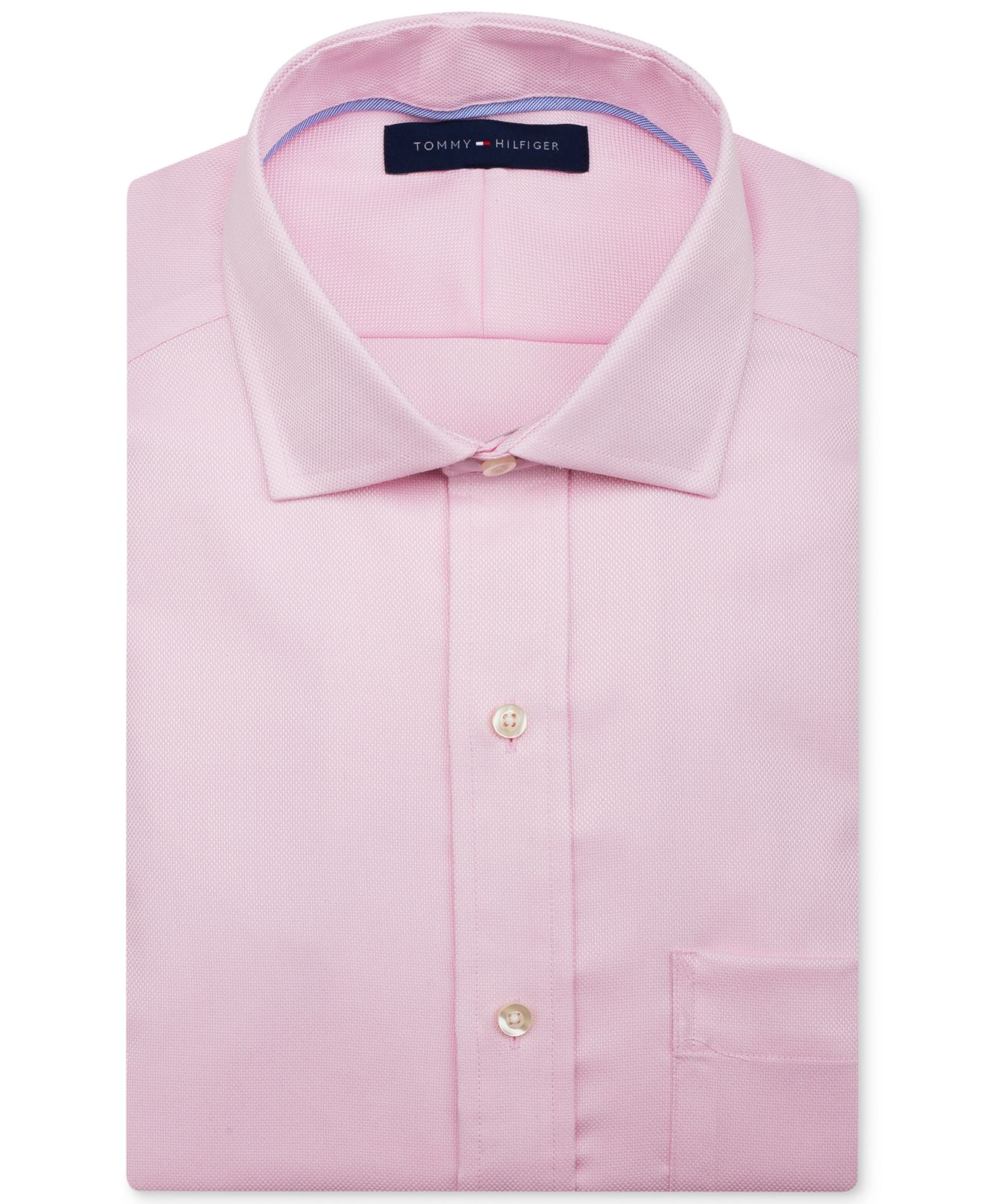 Mens Hot Pink Dress Shirt