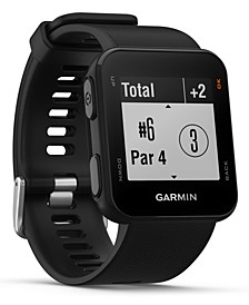 Unisex Approach S10 Black Silicone Strap Touchscreen Smart Watch 23x23mm