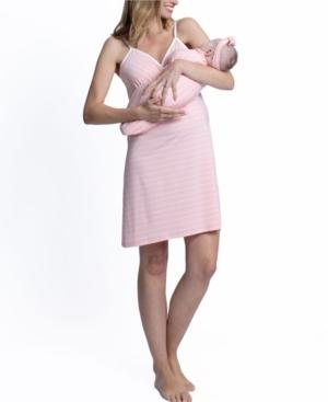 Nursing Nightie With Baby Sack and Beanie Set
