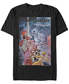 Men's Power Rangers Repusla Poster Short Sleeve T-Shirt