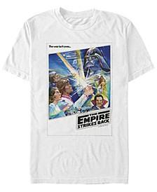 Men's Star Wars Empire Strikes Back War Isn't Over Poster Short Sleeve T-Shirt
