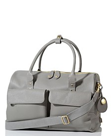 Loreto Leather Convertible Diaper Bag