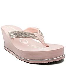 Women's Ultra Wedge Thong Sandal