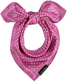 Dot Silk Necktie Scarf