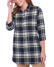 Windbound Plaid Cotton Shirt