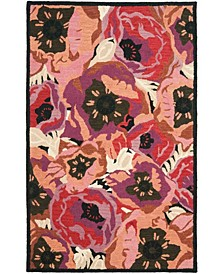 Poppy MSR4872A Red 9' x 12' Area Rug