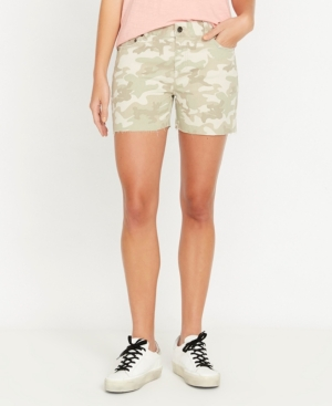 Buffalo David Bitton Lexi Hi Rise Printed Short