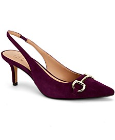 I.N.C. Women's Carynn Hardware Keeper Pumps, Created for Macy's