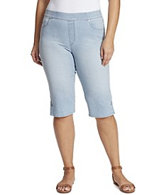 Women's Plus Size Avery Pull On Skimmer