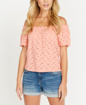 Buffalo David Bitton Gracie Eyelet Top