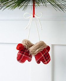 Christmas Cheer Mitten Ornament, Created for Macy's