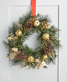 Evergreen Dreams Wreath, Created for Macy's
