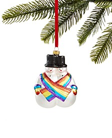 Love is Love,  Twin Snowman Ornament, Created for Macy's