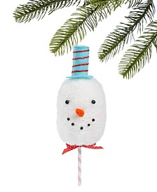 Sweet Tooth Snowman Ornament, Created for Macy's