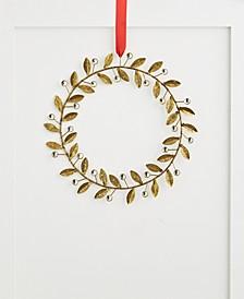 Shine Bright Iron Leaf Wreath, Created for Macy's
