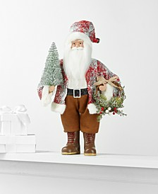 Standing Santa with Tree & Wreath, Created for Macy's